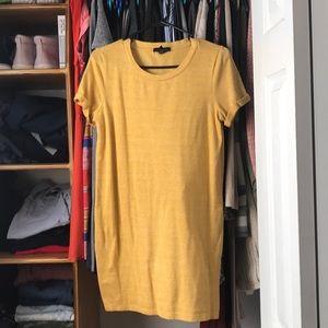 Mustard tunic F21